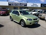 2004 Ford Territory SX TX (RWD) Lemon Ice 4 Speed Auto Seq Sportshift Wagon Wangara Wanneroo Area Preview