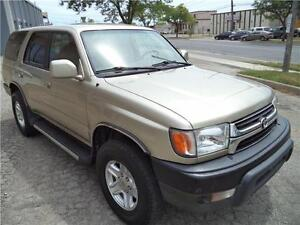 2002 Toyota 4Runner 4x4 RUNS GOOD VERY RELIABLE ACCIDENT FREE