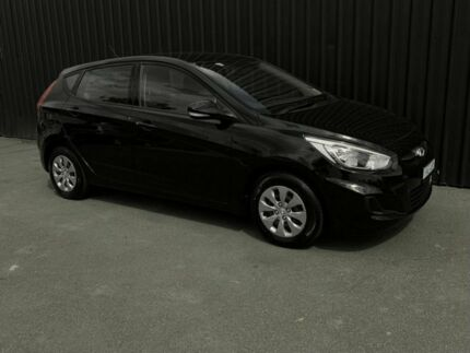 2017 Hyundai Accent RB4 MY17 Active Black 6 Speed CVT Auto Sequential Sedan Phillip Woden Valley Preview