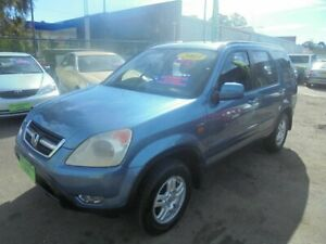 2003 Honda CR-V MY03 (4x4) Sport Purple Blue 4 Speed Automatic Wagon Punchbowl Canterbury Area Preview