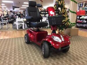 MOBILITY SCOOTER DEMO UNIT ONLY $2200 NO HST! SAVE $800
