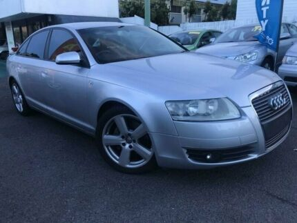 2007 Audi A6 4F Multitronic Silver 1 Speed Constant Variable Sedan Coorparoo Brisbane South East Preview
