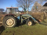 Ford 4000 tractor and field topper for sale