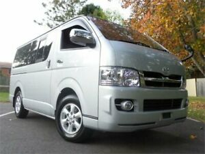 2005 Toyota HiAce KDH205 2005 Super GL 4WD Super GL 4WD 5 seater Camper Silver Automatic Wagon West Ryde Ryde Area Preview