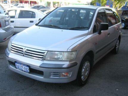 1999 Mitsubishi Nimbus UG Silver 4 Speed Automatic Wagon Fremantle Fremantle Area Preview