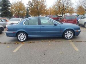 2002 JAGUAR X-TYPE WITH ONLY 130000KMS..NOOO RUST ,MINT!