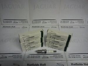 GENUINE JAGUAR V6 SPARK PLUG SET OF SIX FOR X-TYPE S-TYPE XF XJ