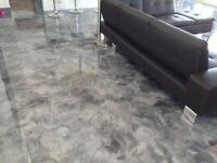 METALLIC RESIN FLOORING