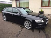 Audi A6 Avant S-Line 2.7TDI **Le Mans Edition** with removable Swan Neck Towbar