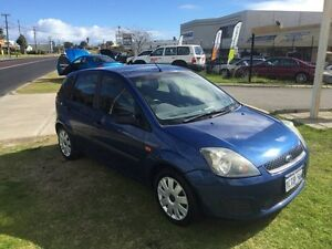 2007 Ford Fiesta WS Manual Blue Manual Hatchback Wangara Wanneroo Area Preview