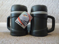 'Reduced' 2x Thermos Microwaveable Soup / Food Flask, Brand New