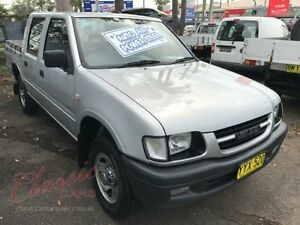 2001 Holden Rodeo TFR9 LX Silver 4 Speed Automatic Crewcab Lansvale Liverpool Area Preview