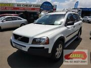 2006 Volvo XC90 P28 MY06 Lifestyle T White 5 Speed Sports Automatic Wagon Campbelltown Campbelltown Area Preview