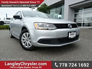 2013 Volkswagen Jetta 2.0L Trendline ACCIDENT FREE W/ HEATED...