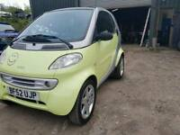 Smart car 2002 Pulse soft touch 53k miles SPARES/REPAIRS