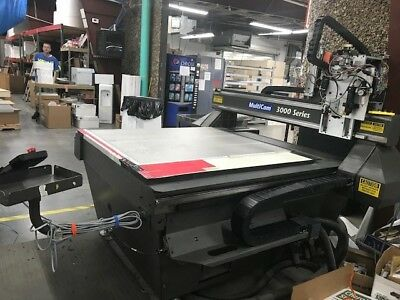 Multicam 3000 Series 50 X 50 Cnc Router Table