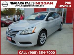 2015 Nissan Sentra S | ECO MODE | LOW KMS