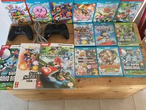 Wiiu divers,Mario Kart-Splatoon-SmashBros-volants-guides etc...