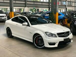 2013 Mercedes-Benz C63 C204 AMG Performance Package Coupe 2dr SPEEDSHIFT MCT 7sp 6. White Port Melbourne Port Phillip Preview