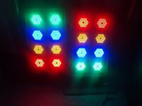 DISCO LIGHTS LED SET SOUNDLAB 8s WITH BUILT IN CONTROLLER- PRO DISCO LIGHTING