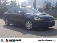 2016 Volkswagen Jetta Sedan Trendline+ NO ACCIDENTS, LOW KM, B.C