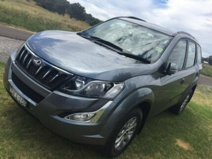 2016 Mahindra XUV500 MY16 W8 AWD Grey 6 Speed Sports Automatic Wagon