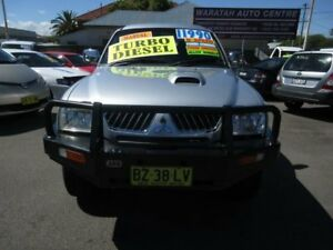 2005 Mitsubishi Triton MK MY05 GLS (4x4) Silver 5 Speed Manual 4x4 Double Cab Utility