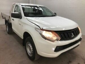2015 Mitsubishi Triton MQ MY16 GLX White 5 Speed Automatic Cab Chassis Bohle Townsville City Preview