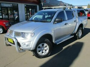 2011 Mitsubishi Triton MN MY11 GL-R Double Cab Silver 4 Speed Automatic Utility Goulburn Goulburn City Preview