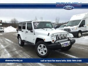 2012 Jeep Wrangler Unlimited Sahara PWR HTD MIRRORS 115 VOLT POW