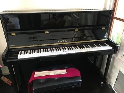421f80c43e4aa Kawai K-3 Upright Piano, black Ebony