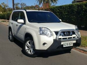 2013 Nissan X-Trail T31 Series V ST White 1 Speed Constant Variable Wagon Prospect Prospect Area Preview