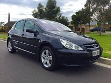 2003 Peugeot 307 T5 MY03 XSE Black 4 Speed Sports Automatic Hatchback North Brighton Holdfast Bay Preview