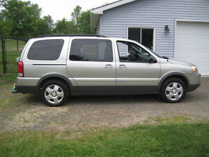2007 Pontiac Montana SV6 EXT Minivan Extended Loaded