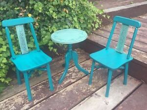 Unique / OOAK/ Refinished / Restyled Child's Bistro Set St. John's Newfoundland image 1