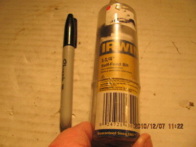 Irwin Self Feeding Drill Bit 43016 1 1.00 Auger