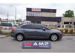 2012 Honda Civic Sdn EX Certified E-tested  100% CREDIT APPROVED