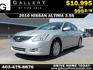 2010 Nissan Altima 2.5 S $99 BI-WEEKLY APPLY NOW DRIVE NOW