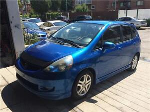 HONDA FIT SPORT 2007 FULL AC MAGS