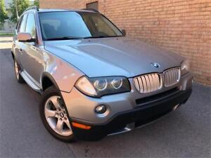 2007 BMW X3 AUTO/MAGS/TOIT/CUIRE/CRUISE/CLEAN!!