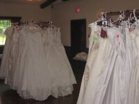 WEDDING GOWN AND DRESS CLEARANCE.  ALL GOWNS UNDER $200!!!
