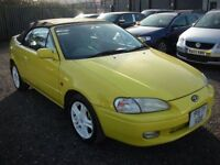 TOYOTA PASEO 1.3 CYNOS CONVERTIBLE IMPORT (yellow) 2006