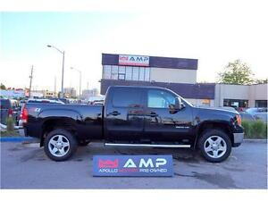 "2011 GMC Sierra 2500HD 20"" WHEELS 4X4 DIESEL DURAMAX LOADED!"