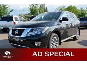 2016 Nissan Pathfinder S V6 4X4 Ad Special was $36328 Now 31988