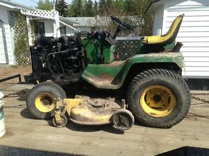John Deere 430 hood and engine covers JD lawn tractor