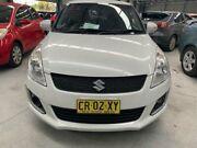 2015 Suzuki Swift FZ MY15 GL Navigator White Manual Hatchback Boolaroo Lake Macquarie Area Preview