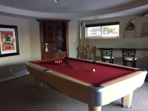 Cloth Pool Table Kijiji In Alberta Buy Sell Save With - Brunswick metro pool table