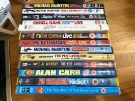 3RD - 100'S OF DVDS, ASSORTED ACTION, THRILLER, COMEDY, STAND-UP, CHILDRENS