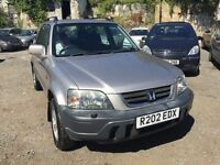Honda CR-V automatic, starts and drives well, MOT until July 2017 ice cold air con