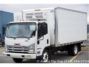 2008 GMC 4500 GAS ***REEFER- 16 PIEDS- INSPECTEE SAAQ- 176000 KM